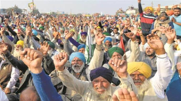 Farmers Agitation 29 december