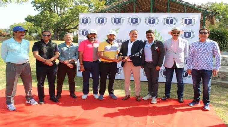 Hyder, son of MLA Rafiq, won Longest Drive title