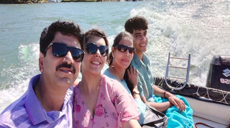 Jyoti Anil And Family