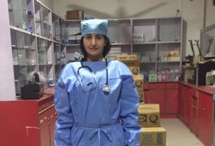 Doctor Meenakshi Joshi of trust of common man