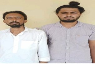Two arrested with fake currency notes of 84 thousand rupees in Hanumangarh