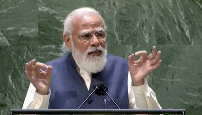 PM Modi showed the mirror to the United Nations from the stage of the United Nations General Assembly