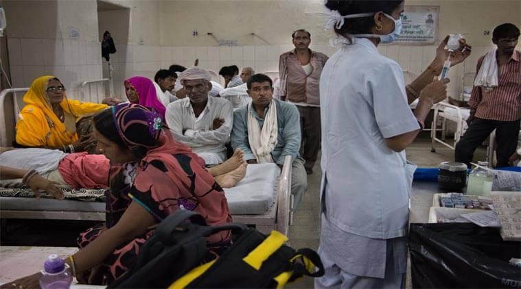 The Medical and Health Department gave instructions to treat all patients of Covid and non-Covid category at CHC and PHC level