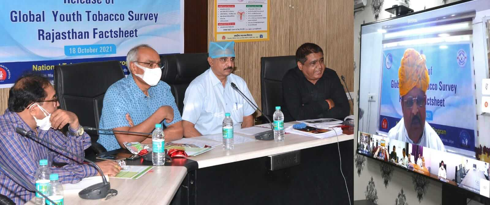 The percentage of tobacco consumption in the age group of 13 to 15 in Rajasthan is 4.1 percent