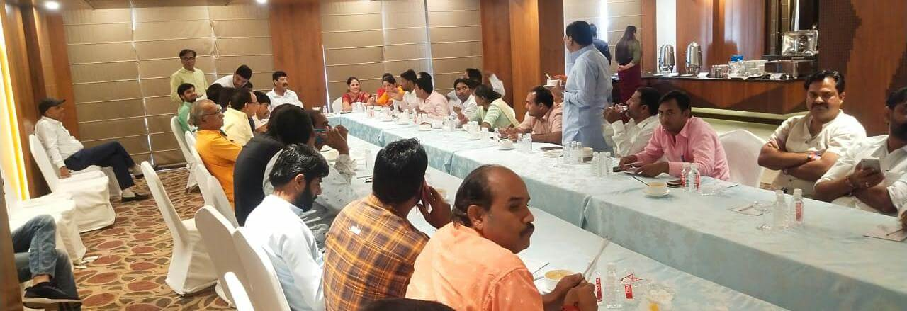 Angry with Municipal Corporation Jaipur Greater Mayor, BJP councilors divided into two groups