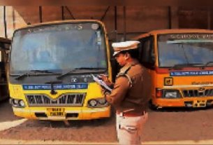 Action will be taken against illegally operated school buses in Rajasthan